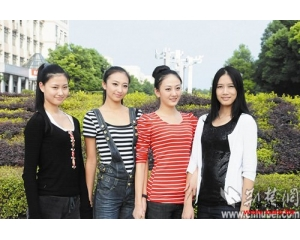 武汉纺织大学三年走出3
