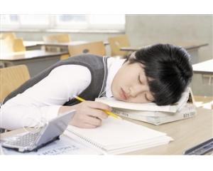 八成学生奢望睡个好觉