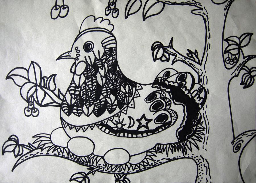 儿童画《海底探险》 儿童画《荷花》 儿童画《海底世界》 儿童画《企