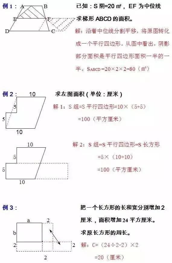 学几何,他靠这10大解法!数学次次满分!原因就这么简单!神奇