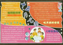 中秋节黑板报:中秋习俗之中秋博饼