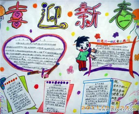 春节手抄报:关于春节的手抄报