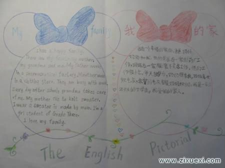 英语手抄报 祖父的蜜蜂