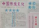 中国传统文化手抄报:画按类别分类