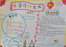中国传统文化手抄报:画按内容分类