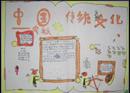 中国传统文化手抄报:书法艺术