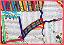民族团结手抄报:新疆民族团结诗歌朗诵稿